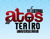 III Festival Atos de Teatro Universitário