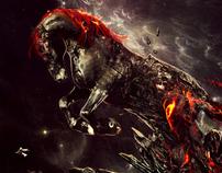 Born from fire - Desktopography 2011