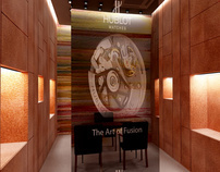 HUBLOT WATCHES SHOP INTERIOR DESIGN