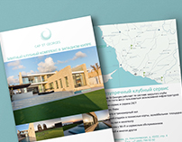 "Bifold brochure for ""Cap St. Georges"" (Russia)"
