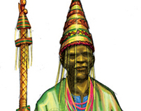 YORUBA Cultural Character Designs
