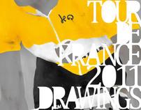 Tour de France 2011 Drawing Zine