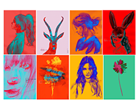 Graphic work series