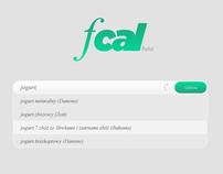 FCAL - website