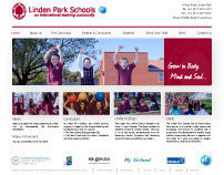 Linden Park Primary Schools - Website Re-Design