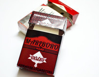 Re-design of MARLBORO Cigarette packaging