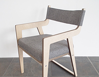 Plywood Occasional Chair