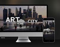 NAC Public Art Trust - UX/UI design