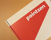 Packaging Design, Paint Sample Kit, Paintzen