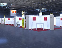 Prowine 2016 Booth Visualization