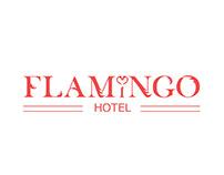 *FLAMINGO* hotel logo design