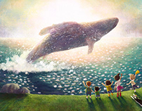 There's a Whale in the Field!