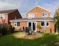 rear garden lounge
