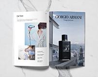 Aqua Di Gio Print commercial personal project