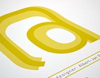 FF DIN Type Specimen Poster