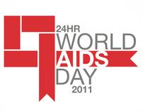 Museum of Design Atlanta 24hr World AIDS Day Campaign