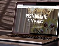 Website: Restaurante 31 de Janeiro