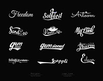 Text-based  Logos design
