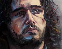 Portrait of Jon Snow