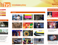 Television Sydney TVS  Re- Branding