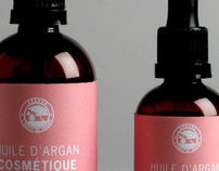 Argan oil Packaging and Brand Identity