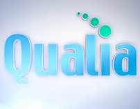 Qualia Logo Intro Video