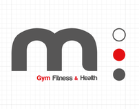 Branding (M - Gym Fitness & Health) Marcelo Simielli