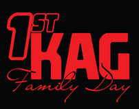 KAG Family Day T-Shirt Design