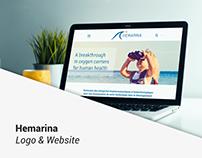 HEMARINA LOGO & WEBISTE
