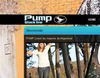 Pump Slackline - Design + Logo