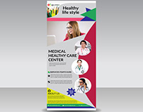 unique rollup banner design