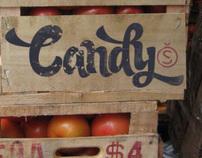 Candy Script Type Specimen