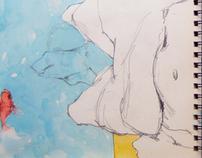 "Sketchbook ""Itatiaia"""