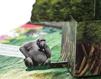 Rainforest Pop-Up Mailer