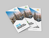 Corporate Tri-Fold Brochure Template 02
