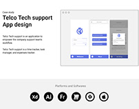 UX case study- Telco Tech support