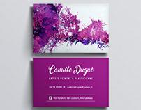 Cartes de visite Camille Dugué