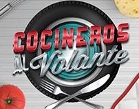 """Logo """"Cocineros al volante"""""""