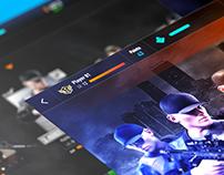 UX/UI Design - Sniper 3D