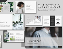 Lalina Powerpoint Template