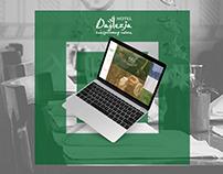 Hotel Daglezja web design