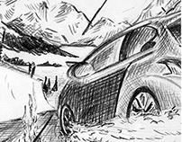 Peugeot 208 - Storyboard