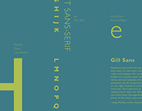 Type Classification Poster Series // Sans Serif