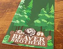 Darien Lake: Beaver Brothers Menu Design