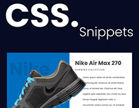 Product cards - CSS