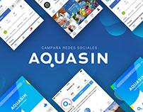 AQUASIN - Redes Sociales