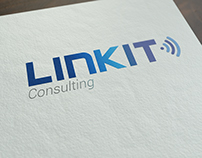 Logo & Business Card Design - Link IT