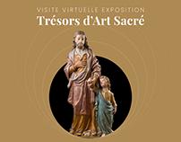 Visite virtuelle de l'exposition Trésors d'Art Sacré
