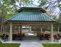 Park Metal Shelter