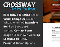 CrossWay - WordPress Landing Page